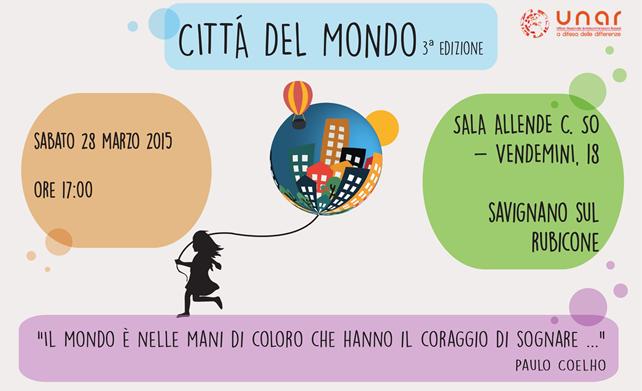 Città del Mondo 2015 – 3^ Edizione