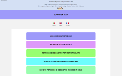 "PROGETTO FAMI ""InteSe"" – Journey map"
