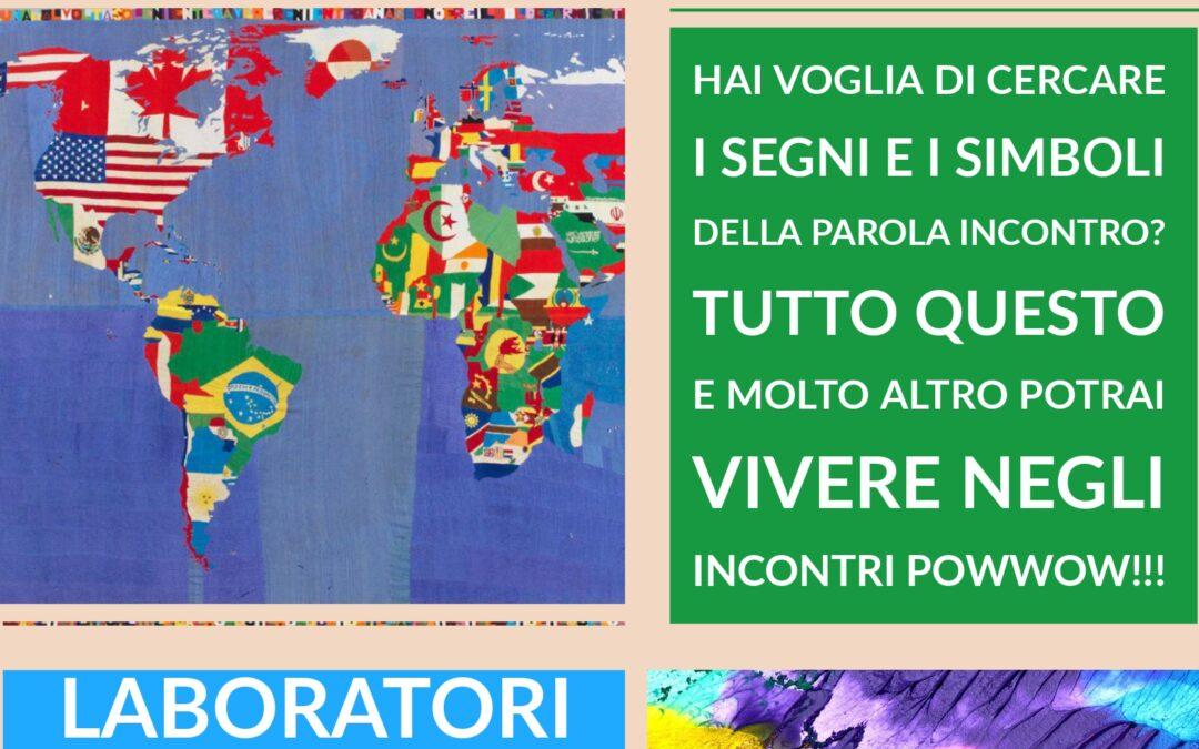 """Laboratorio di arte terapia """"POWWOW"""" dedicato alle giovani generazioni condotto da Gisella Casadei"""